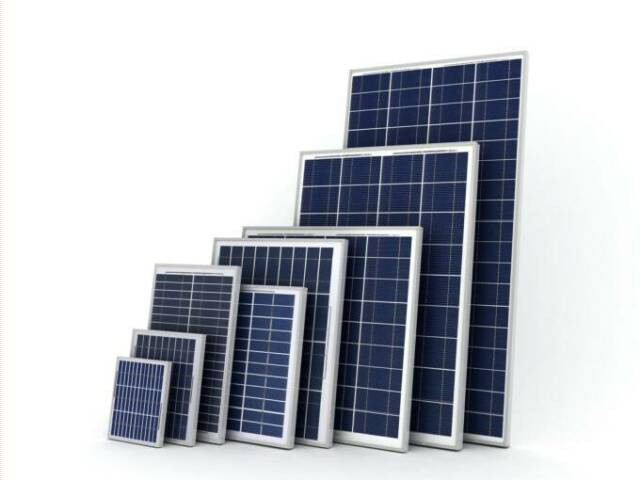 Solar Panels By Size 640