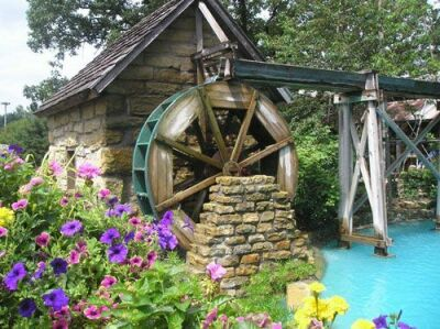 Mill Water Wheel 500