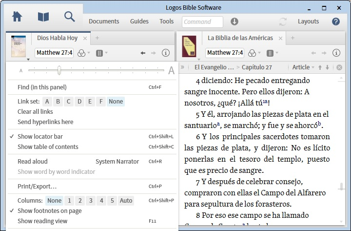 ReadMultVersions DropDownBox
